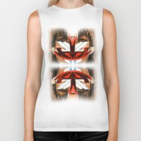 givenchy Biker Tanks featuring Givenchy mask by cvrcak