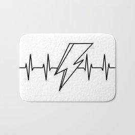 Bowie Heartbeat Bath Mat
