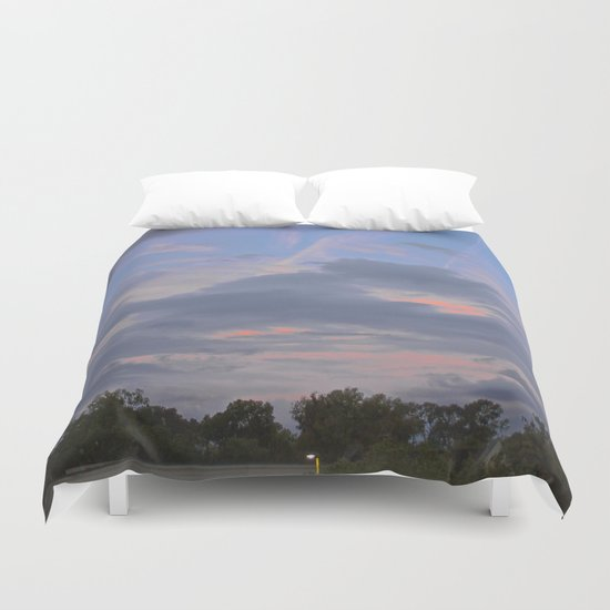 A Misfit Day Duvet Cover