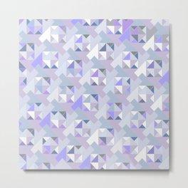 Hopscotch Algorithm (violet) Metal Print