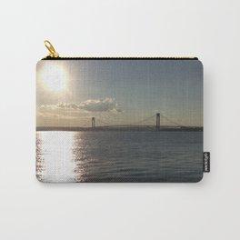 Verrazano Bridge Sunset Carry-All Pouch