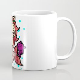 MERMAID KITTIES Cat Cats Water Under the Sea Gift Coffee Mug