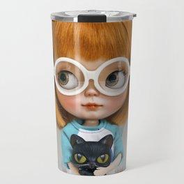 Erregiro Blythe Custom Doll Carmencita & Sócrates Travel Mug