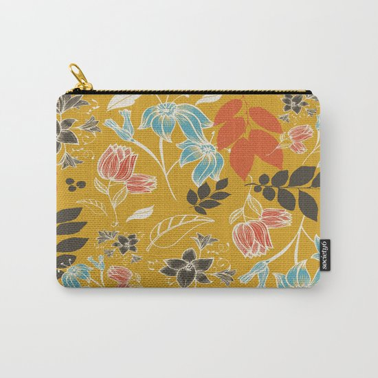 Spring flower mustard Carry-All Pouch