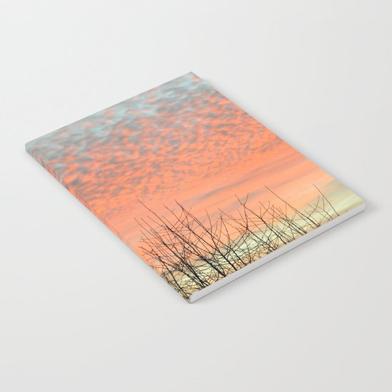 SPRING SUNSET Notebook