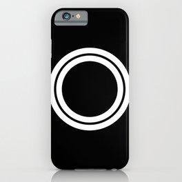 Minimal White 10 iPhone Case