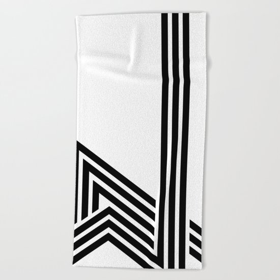 Hello III Beach Towel