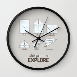 Let's go explore Wall Clock