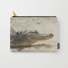 Alligator Photography   Reptile   Wildlife Art Carry-All Pouch