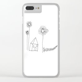 No Place Like Home Clear iPhone Case