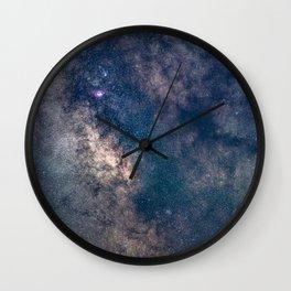 Milky Way Core Wall Clock