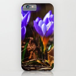 Concept flora : Purple love iPhone Case