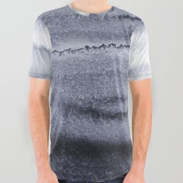 WITHIN THE TIDES - VELVET GREY All Over Graphic Tee