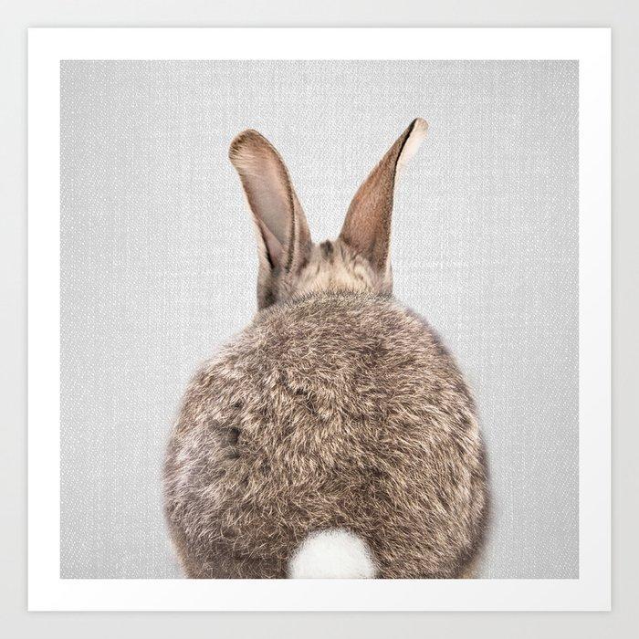 Rabbit Tail - Colorful Kunstdrucke
