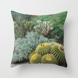 Cactus Garden #1 Throw Pillow