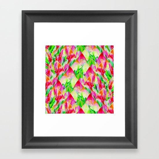 Tulip Fields #119 Framed Art Print