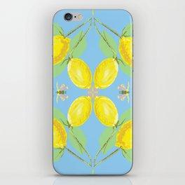 Butterfly lemon  iPhone Skin
