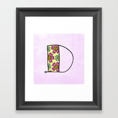 D d Framed Art Print