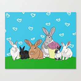 The Puha Pack Canvas Print