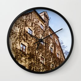 Climbing Vines Wall Clock