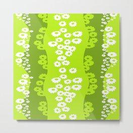 sunflower green Metal Print