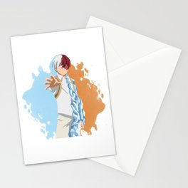 My Hero Academia Minimalist (Todoroki) Stationery Cards