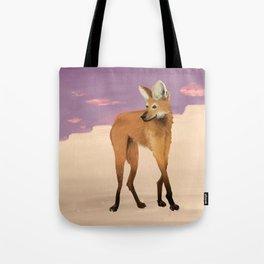 Maned Wolf Tote Bag
