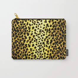 Leopard Print Animal Wallpaper Carry-All Pouch