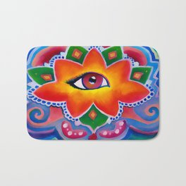 Eye of the Lotus Bath Mat