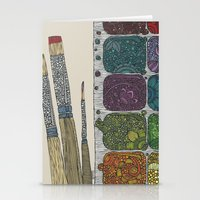 Stationery Cards featuring Create by Valentina Harper