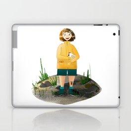 runaway chicken Laptop & iPad Skin
