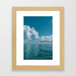 Hawaii Water VIII Framed Art Print