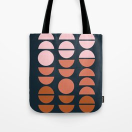 Modern Desert Color Shapes Tote Bag
