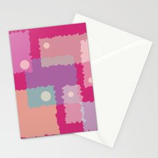 Wiggled Squario Stationery Cards