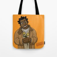 oitnb Tote Bags featuring Crazy Eyes OITNB by StephDere