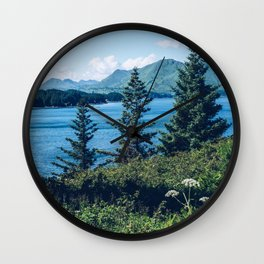 3 Trees: Muted Wall Clock