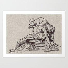 Pieta, St-Paul, London Art Print