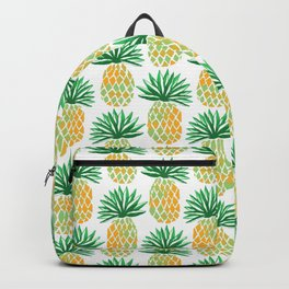 Simple Pineapple Pattern - Hawaiian Art Backpack
