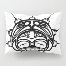 Ink Frog Spirit Pillow Sham