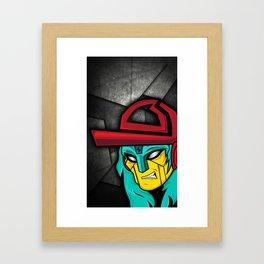 TDR CASE Framed Art Print