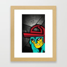 TDR CASE Framed Art Print