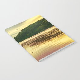 Sunset over the Mekong River Notebook
