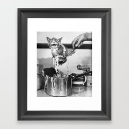 Clumsy  Framed Art Print