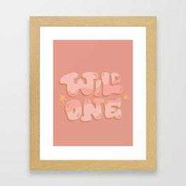 Wild One Framed Art Print