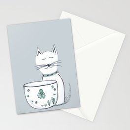 The Cat & The Octopus Stationery Cards