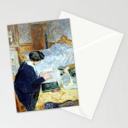 Edouard Vuillard Lucy Hessel Reading Stationery Cards