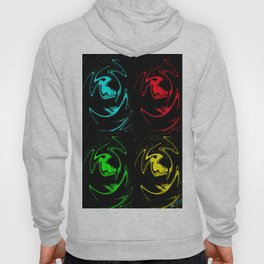 Abstract Perfection 41 Pop Art Hoody