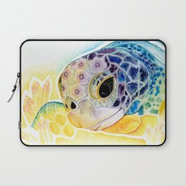 Crystal Turtle Laptop Sleeve