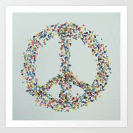 PEACE PILLS Art Print