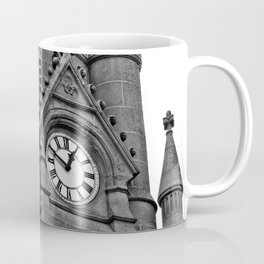 B&W Clock Tower Coffee Mug